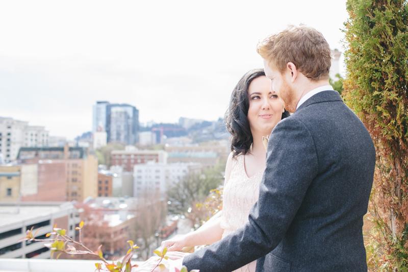 Tom + Rachel || Married in Portland